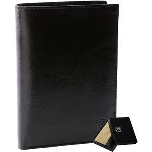 PORTEFEUILLE BEST-SELLER TK01 - Portefeuille cuir noir / Por…