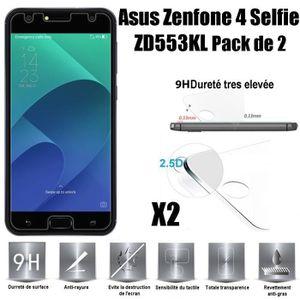 FILM PROTECT. TÉLÉPHONE Asus Zenfone 4 Selfie ZD553KL Vitre protection d'e