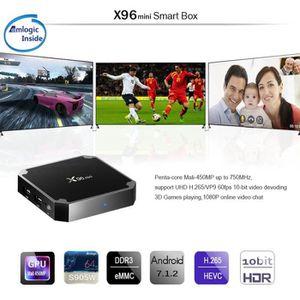 BOX MULTIMEDIA X96 TV Box Android 7.1 4K Boîtier Tv, Mini Lecteur