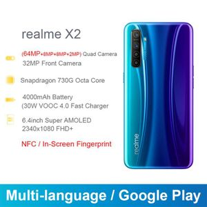 SMARTPHONE Version mondiale Realme X2 smartphone 8 + 128 Go 6