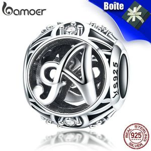 Charm's BAMOER  Charms    Argent 926  Femme  Compatible Pa