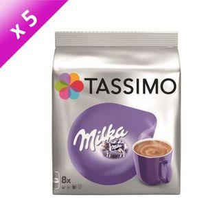 CAFÉ TASSIMO Milka - 5x 8 dosettes