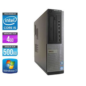 UNITÉ CENTRALE  Pc de bureau Dell 7010 Desktop - i5-3470 - 4 Go -