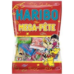 CONFISERIE DE SUCRE HARIBO Méga Fête 1kg