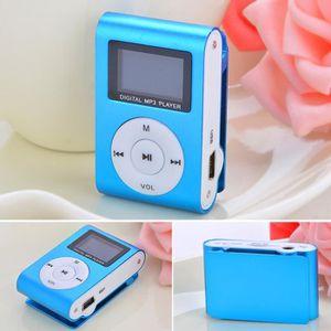 LECTEUR MP3 Mini MP3 Player Clip USB FM Radio LCD Screen Suppo