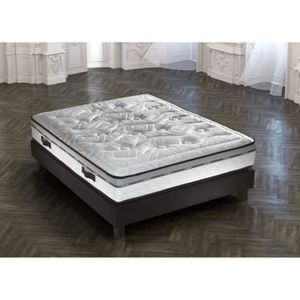 Crown Bedding Matelas Sublime 160x200 Cm Ressorts Equilibre
