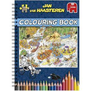 JEU DE COLORIAGE - DESSIN - POCHOIR JUMBO Livre de Coloriage