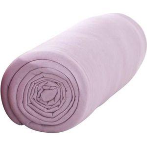 DRAP HOUSSE TODAY Drap housse 100% coton - 90 x190 cm - Poudre