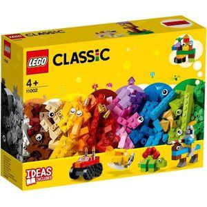 ASSEMBLAGE CONSTRUCTION LEGO® Classic 11002 Ensemble de Briques de Base- J