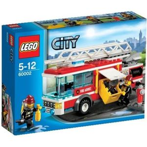 ASSEMBLAGE CONSTRUCTION LEGO® City 60002 Le Camion de Pompier