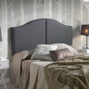 TÊTE DE LIT ZULEIKA Tête de lit 160 cm en simili - Noir