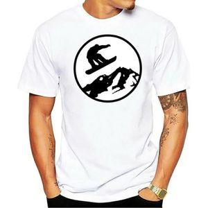 T-SHIRT Mâle Meilleure vente T-shirt Piste Off T-shirt Ski