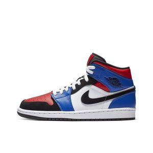 Jordan 1 bleu rouge - Cdiscount