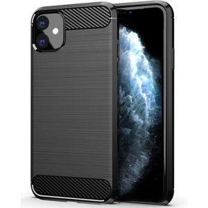 COQUE - BUMPER Coque iPhone 6/6S Rabat magnétique Noir + Verre tr