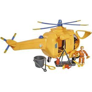 UNIVERS MINIATURE SAM LE POMPIER Smoby Hélicoptère Wallaby 2 + Sam