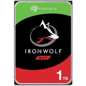 DISQUE DUR INTERNE SEAGATE - Disque dur Interne - NAS Iron Wolf - 1To