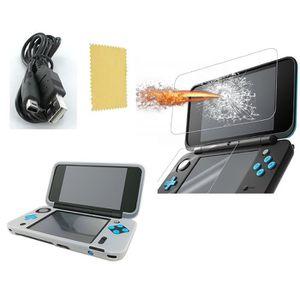 PACK ACCESSOIRE Pack 3 en 1 Nintendo New 2DS XL : Housse silicone