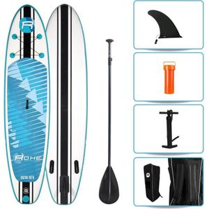 STAND UP PADDLE ROHE Pack Paddle Gonflable Oota - 315x76x15cm - Av