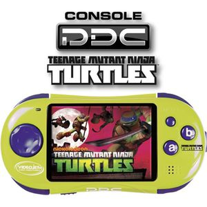 CONSOLE ÉDUCATIVE TORTUE NINJA Mini Console Portable PDC