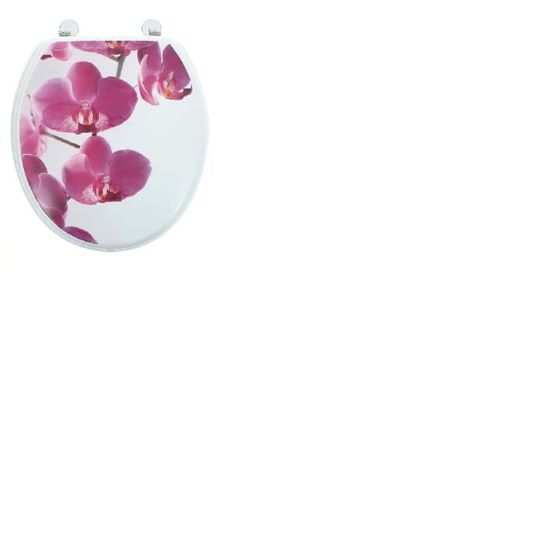 ABATTANT WC Abattant Wc Orchidee   Taille Universelle