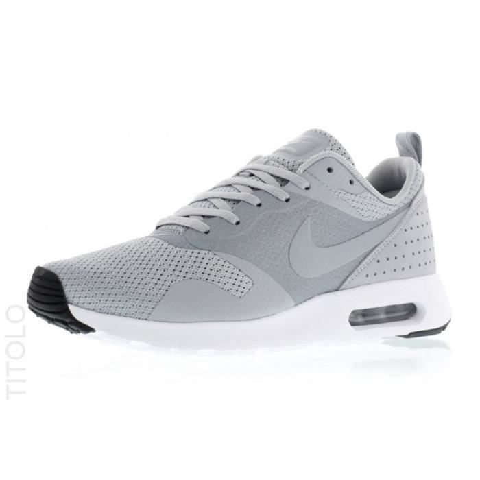 newest 86408 f3c86 BASKET NIKE Baskets Air Max Tavas Premium Chaussures Homm