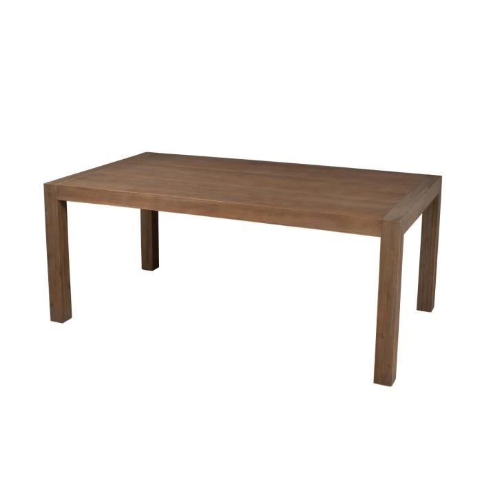 Cannes table manger extensible 180 230 cm acacia achat for Table a manger extensible