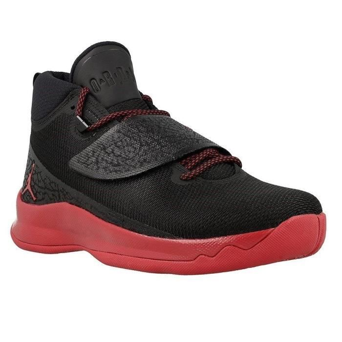 hot sales 97371 1bf69 BASKET NIKE Baskets Jordan Super Fly 5 Po Chaussures Homm. Chaussures  baskets de coloris noir et rouge ...