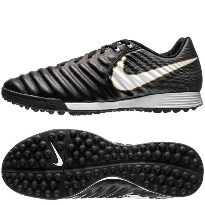the best attitude afddf 648db Nike Tiempo Rio Ii Tf 631289-010 Homme Chaussures De Foot Turf Noir