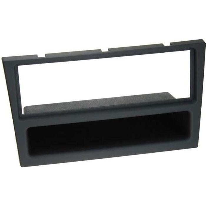 Adaptateur de façade soft touch 1-DIN avec vide poche Opel Combo / Corsa / Meriva