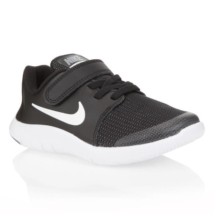 NIKE Baskets Flex Contact 2 - Enfant - Noir