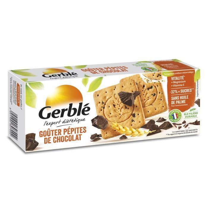 GERBLE Biscuits au pépites de chocolat - 250 g
