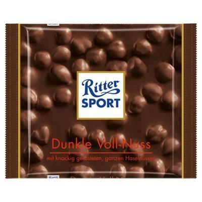 Ritter Sport Noir Noisettes Entires [Tablette ...