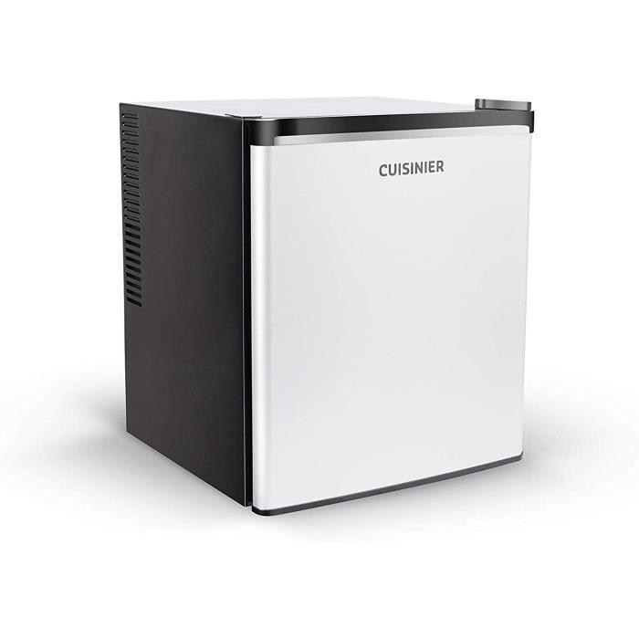 Cuisinier Deluxe 04339 Mini réfrigérateur, Classe énergétique B, 70 W, 38 litres, Noir