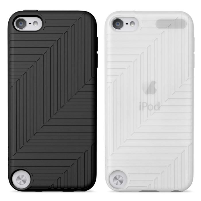 BELKIN Flex Lot de 2 étuis de protection - iPod Touch - Silicone - Noir / Blanc