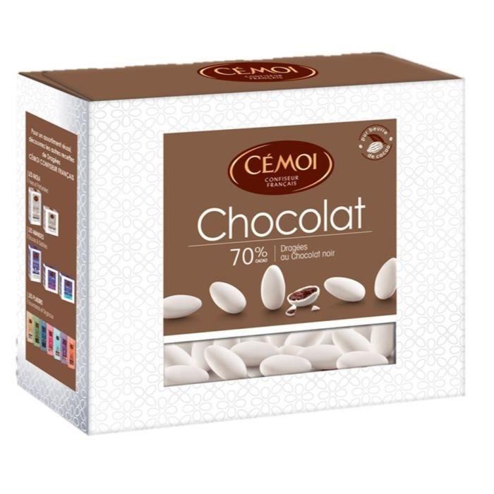 CEMOI Boîte Dragées chocolat blanc - 375 g