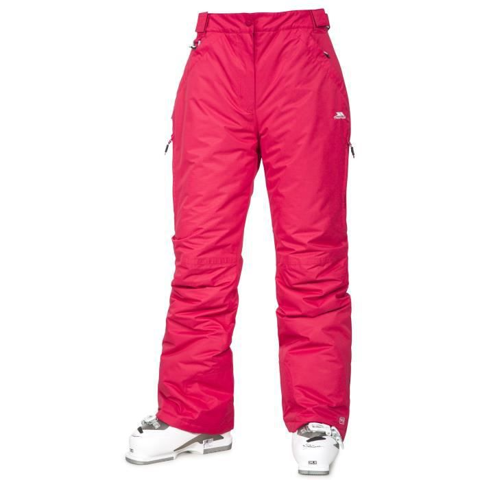 TRESPASS Pantalon de ski Imperméable Lohan - Femme - Rose framboise