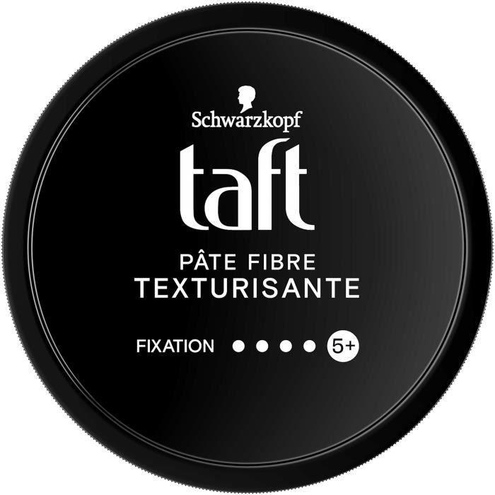 SCHWARZKOPF Pâte Fibre TAFT Texturisant Force Carbone - Pot de 130 ml