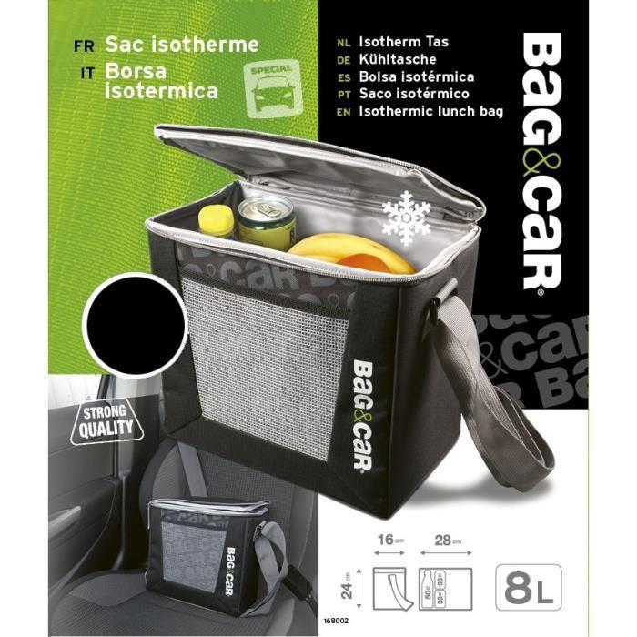 BAG&CAR Sac isotherme 8L