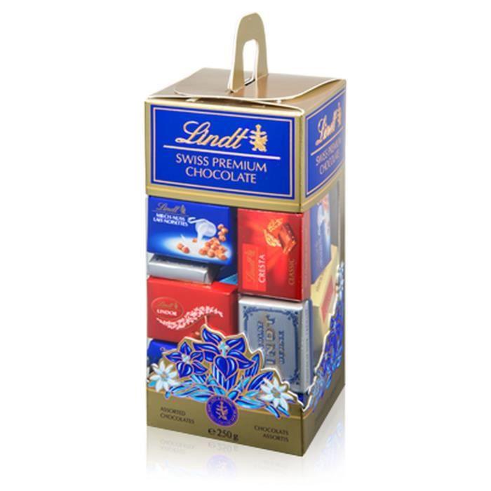 Confiserie de Chocolat Lindt Napolitains Assortis - Tubo 250G