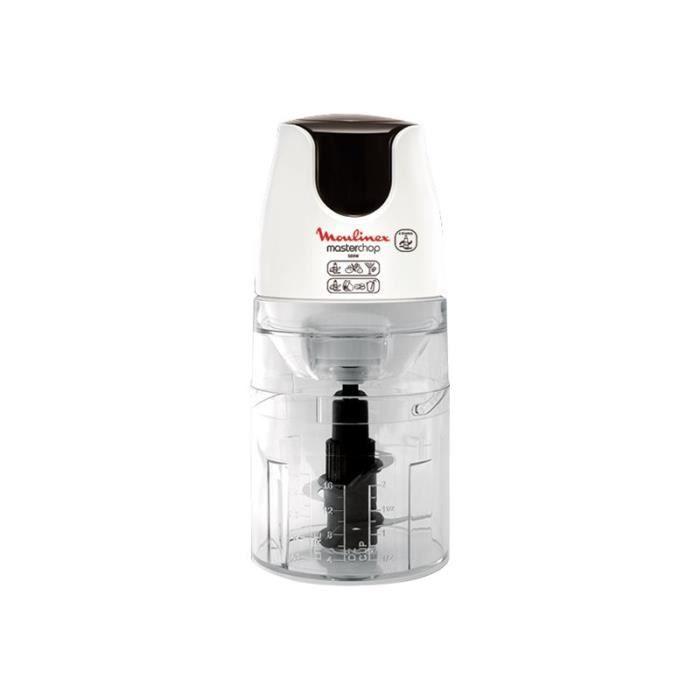 Moulinex Masterchop DJ450B Hachoir 500 ml 500 Watt blanc