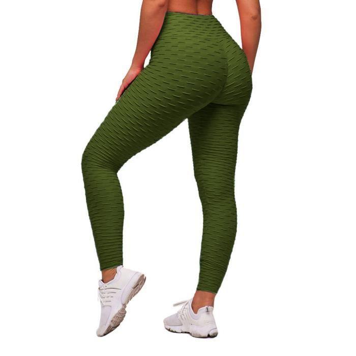 Minetom Legging Sport Femme Pantalon Yoga Femme Legging de Sport Sexy Femme Legging