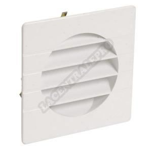 Grille d'aération spéciale façade blanc 1GETM10B p