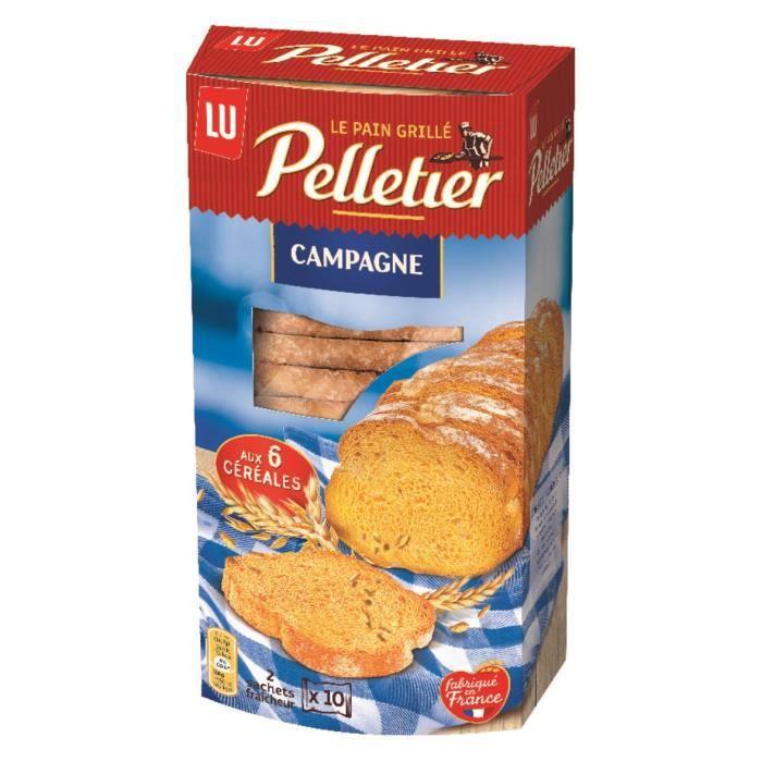 Pelletier Pain Grillé Campagne 240g