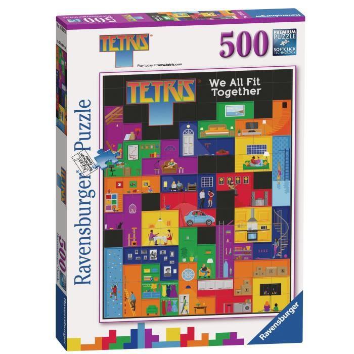 RAVENSBURGER - Puzzle 500 pièces Tetris