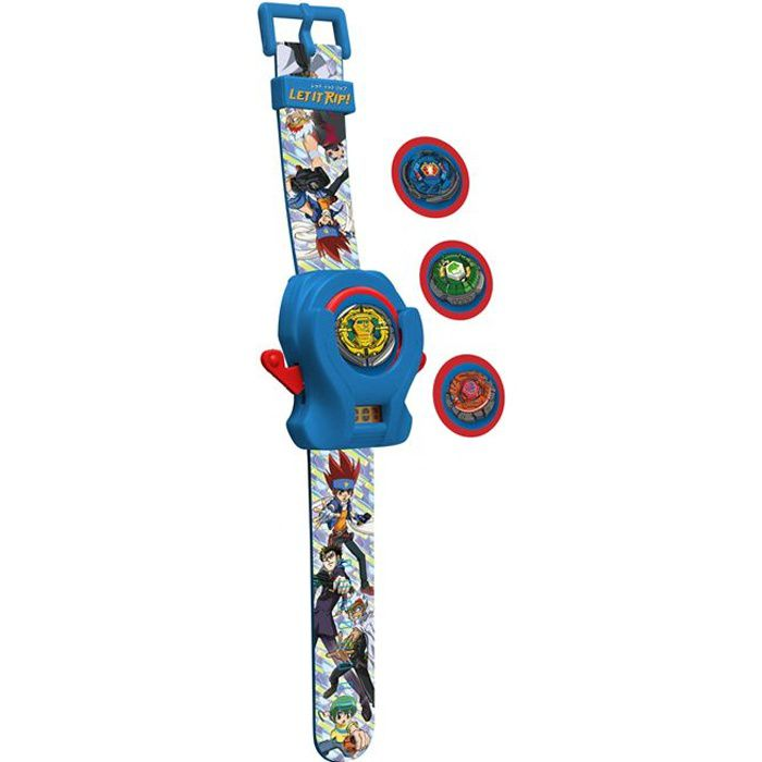 BEYBLADE Montre Lanceur de Disques -Flying Disk-