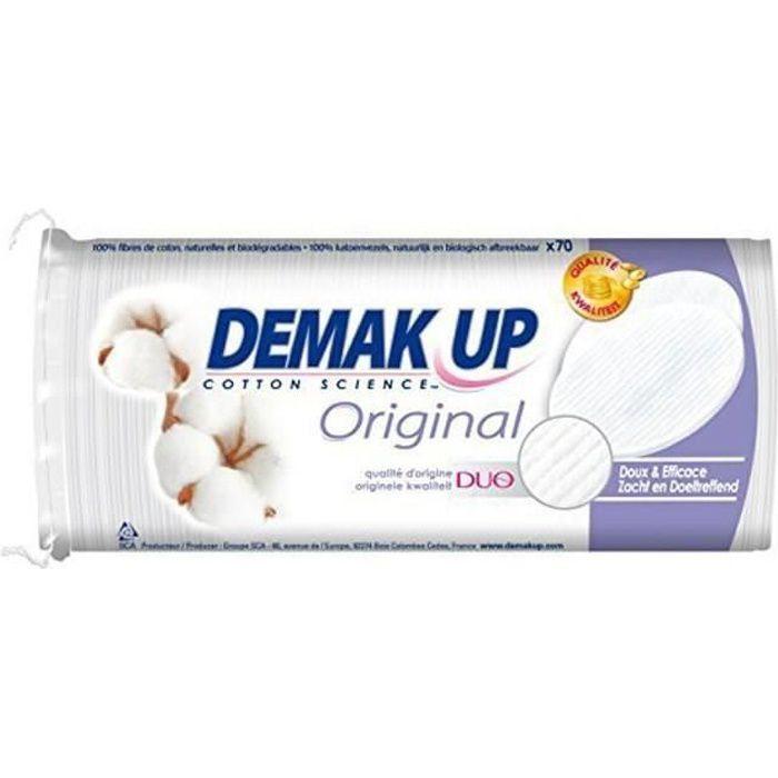 Cotons ovales à démaquiller 70x Demak'Up
