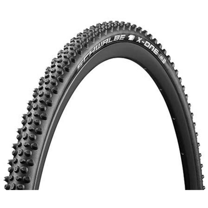 Pneu vélo gravel Schwalbe X-One Bite HS481 - 1.30x28 (33-622) - Noir - Tubeless Easy