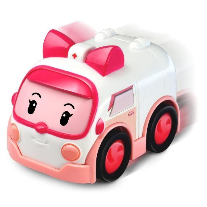 SILVERLIT Robocar Vehicule à Frixion - Ambre