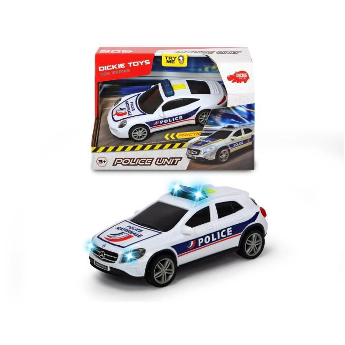 DICKIE TOYS Véhicules Police
