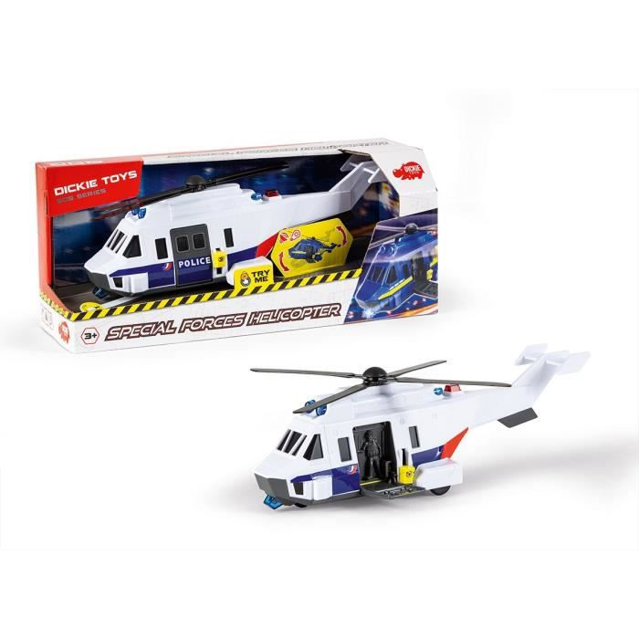 DICKIE TOYS Helicoptère Forces Spéciales